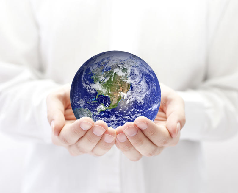 Download Earth in hands stock photo. Image of hand, fingers, assistance - 20519850