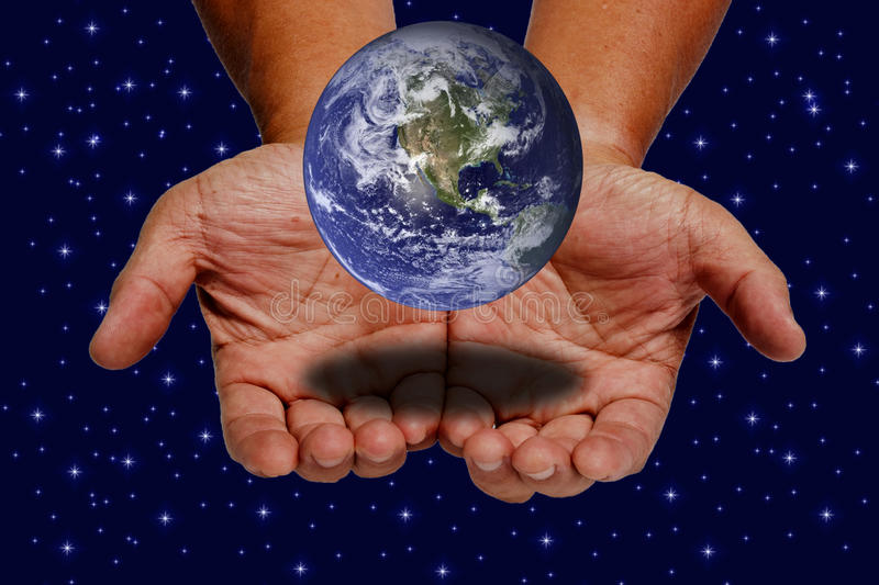 Download Earth on hands stock photo. Image of nature, peace, ecosystem - 20953158