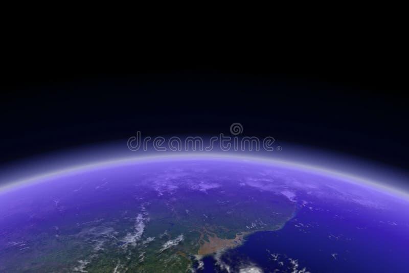 Earth Horizon stock illustration