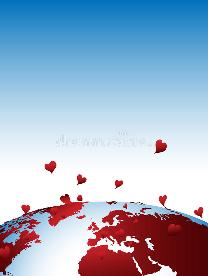 Free Earth In Love Background Stock Photo - 12577180