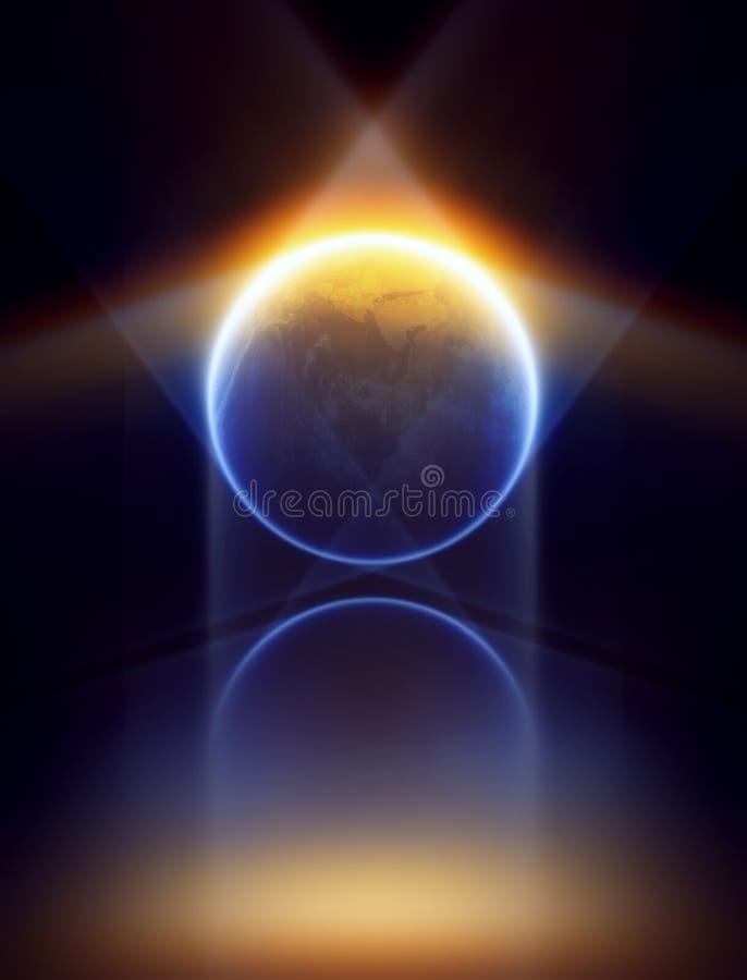 Earth inside star