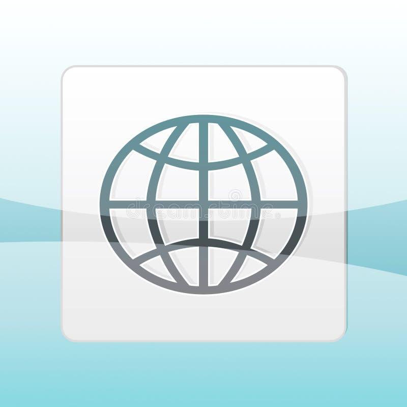 Earth logo stock illustration