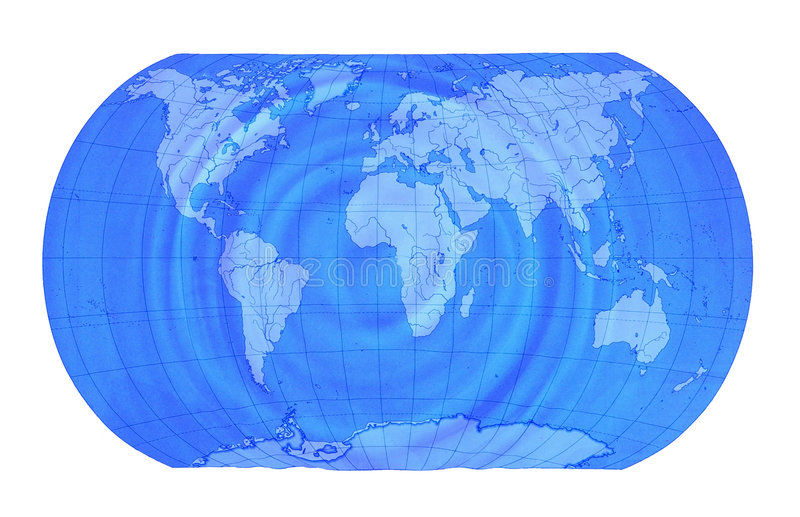 Earth map royalty free stock images