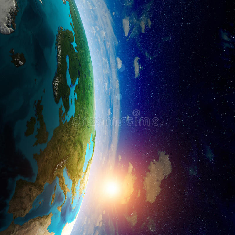 Earth map. Elements of this image furnished by NASA royalty free stock photo