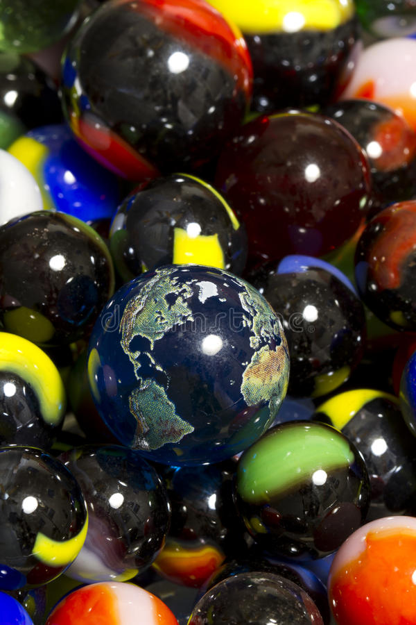 Earth & Marble Collection royalty free stock photography
