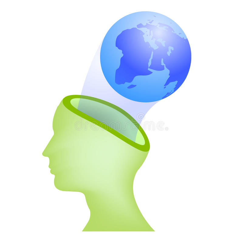 Download With the earth in mind stock vector. Image of idea, clean - 14767160