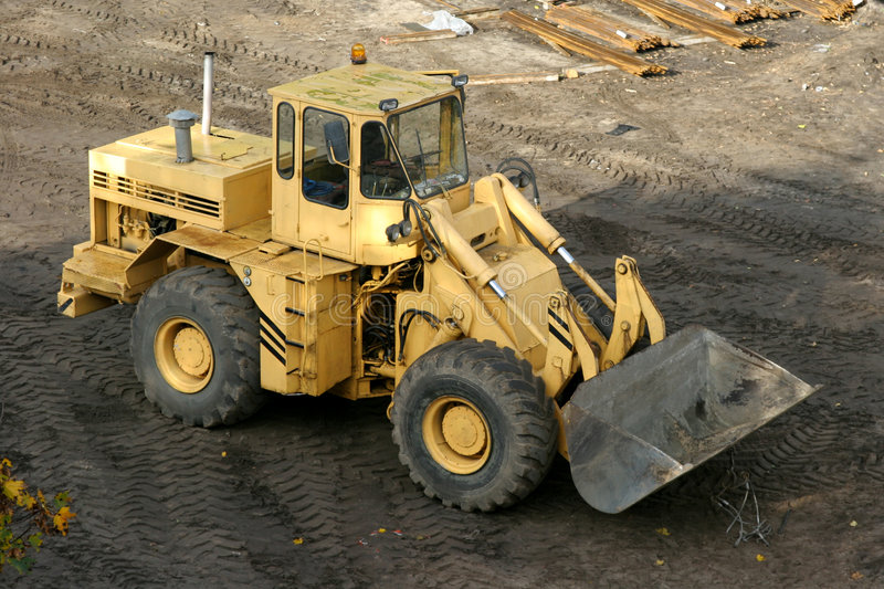 Download Earth mover stock photo. Image of moving, build, machinery - 1455844