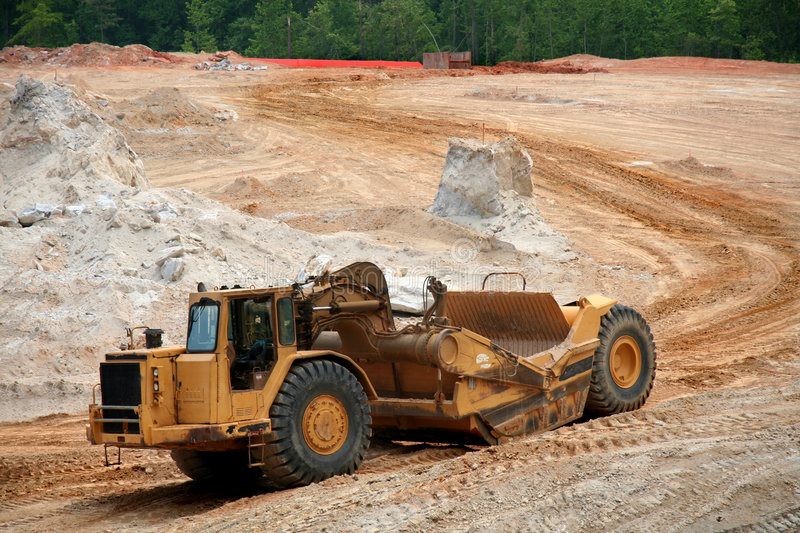 Download Earth mover stock photo. Image of grading, excavator, dozer - 854310
