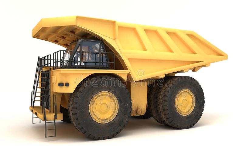 Download Earth mover vehicle stock illustration. Image of power - 32058596