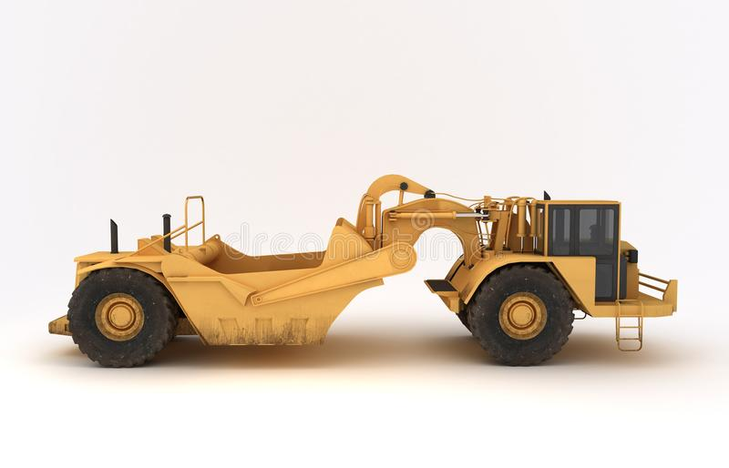 Download Earth Mover Vehicle Royalty Free Stock Images - Image: 32058609