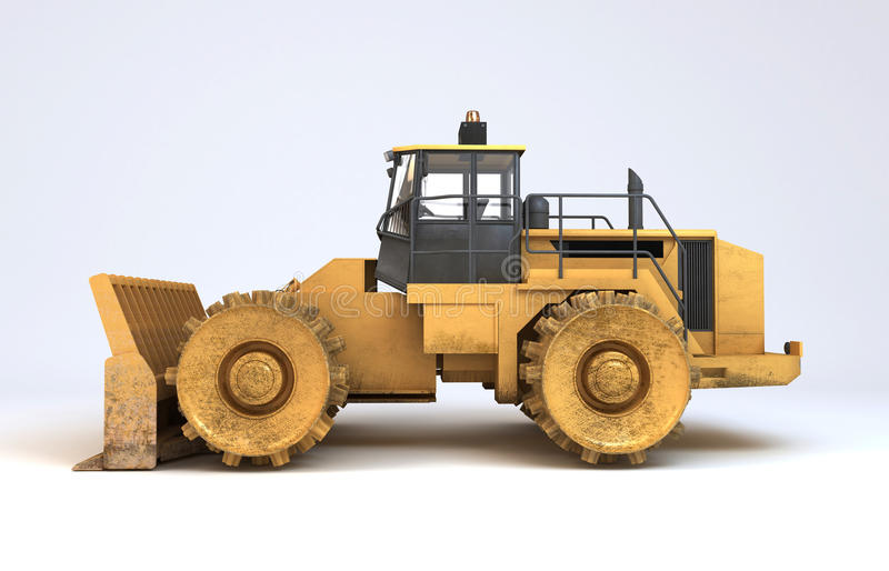 Earth Mover Vehicle Royalty Free Stock Photo