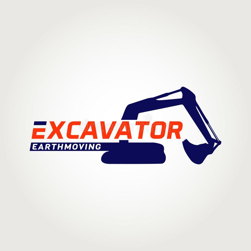 Earth Moving Logo Symbol Icon royalty free illustration