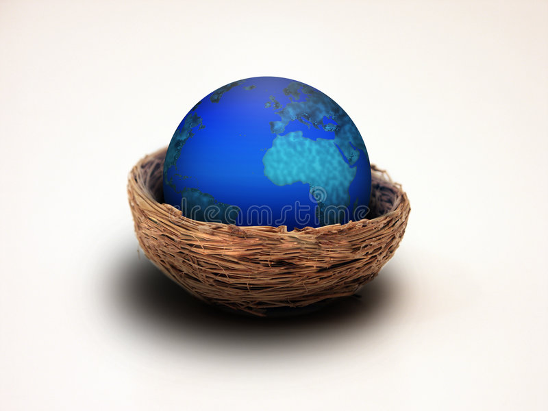 Download Earth Nest stock photo. Image of european, nest, elements - 855898
