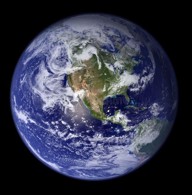 Earth - North America royalty free stock photo