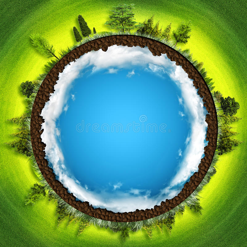 Earth is our home royalty free stock photography