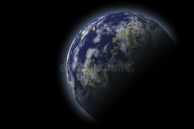 Earth planet vector illustration