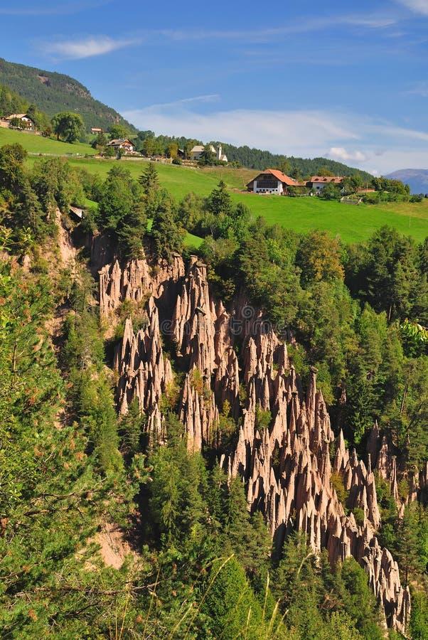 Free Earth Pyramides,south Tyrol Royalty Free Stock Photos - 22494938