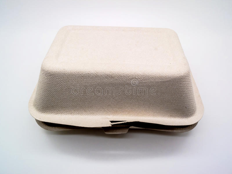 Earth's Natural Alternative Wheat Straw Fiber, Bagasse (Sugarcan. Bagasse Box made from 100% plant fiber, made from 100% biodegradable and compostable. bagasse stock images