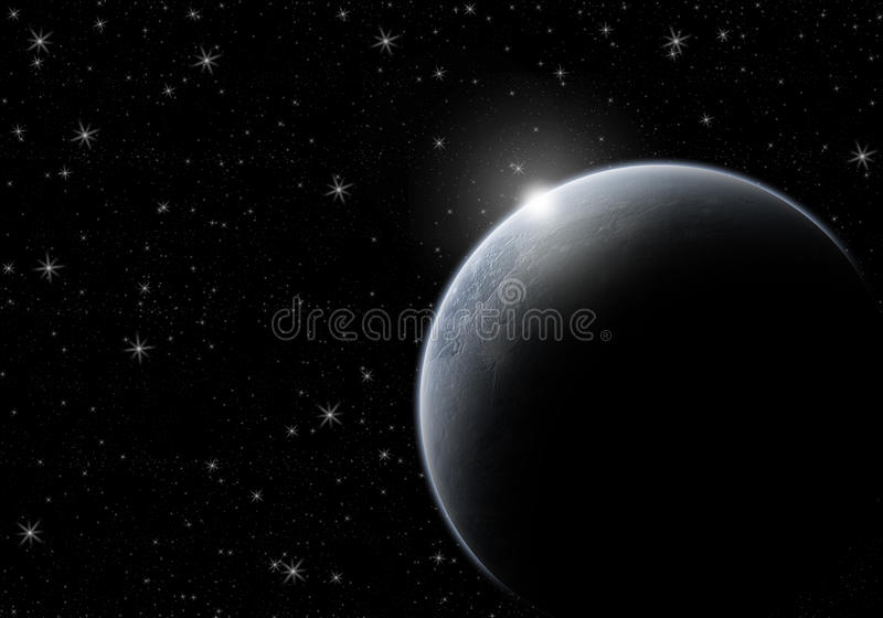 Earth and Space royalty free stock images