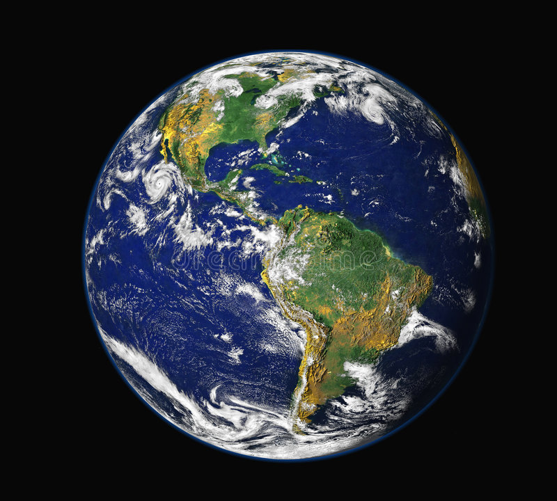 Download Earth from space - America stock illustration. Image of backgrounds - 7219335