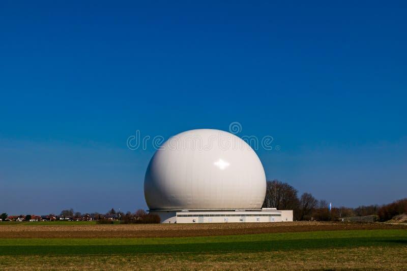 Earth station in Raisting, Bavaria-March 23, 2019. Earth station in Raisting, Bavaria stock photos