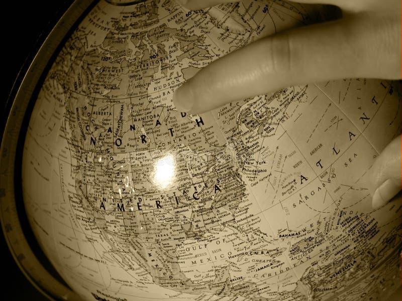 Download Earth Study 2 stock image. Image of equator, spinning, longitude - 20259