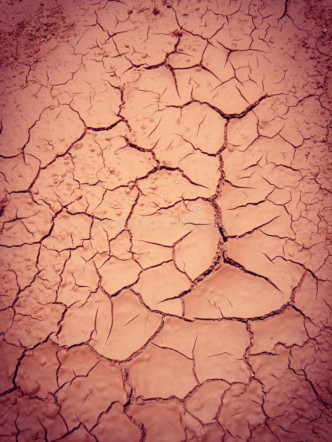 Earth surface Cracked because of Sun Shine. Heavy sun shine comes to the earth surface and it was cracked to the amazing art. how awesome mother of nature royalty free stock photo
