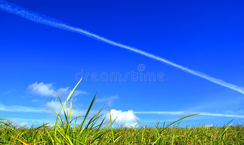 The Earth Under The Sky. Royalty Free Stock Images