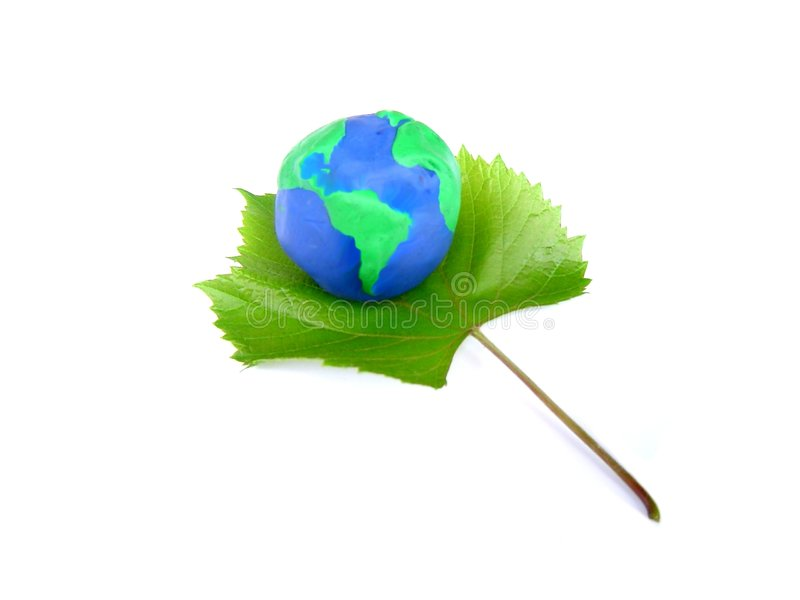 Earth and Vine, the symbol of Life stock photos