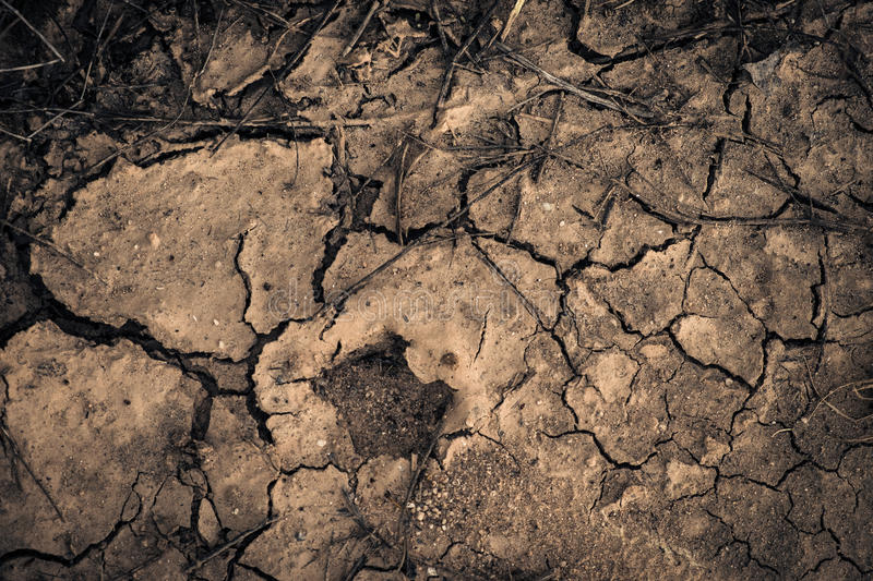 Earth waterless stock photography