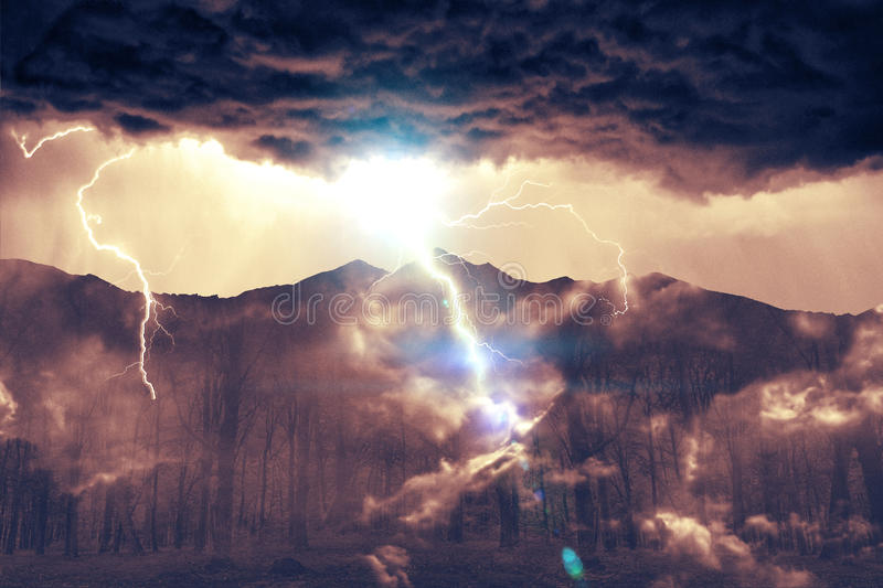 Earth-Wind-Fire_v2 royalty free stock photos