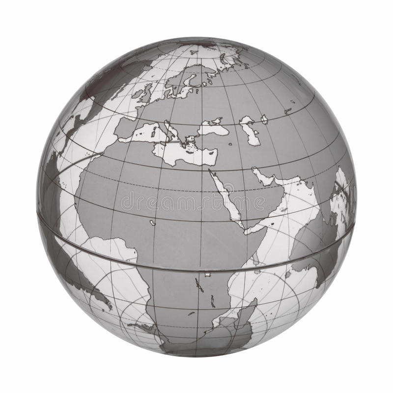EARTH WORLD GLOBE BACKGROUND SET. Earth World Globe Background with Clipping Path stock illustration