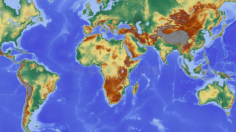 Earth World Map Water Picture Image 95675629