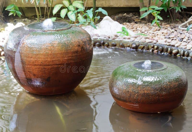 Download Earthenware Fountain Jar Stock Image - Image: 23648621