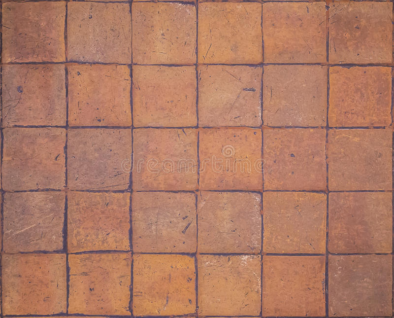 Earthenware tile pattern royalty free stock photography