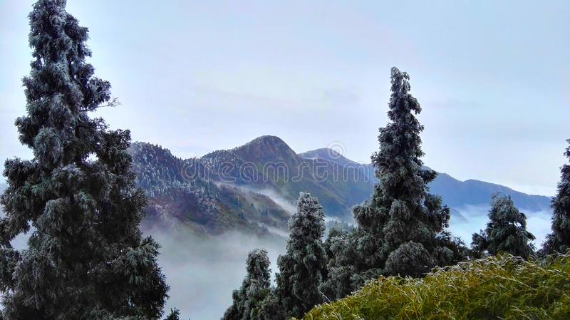 Earthly Paradise in Hengshan stock images