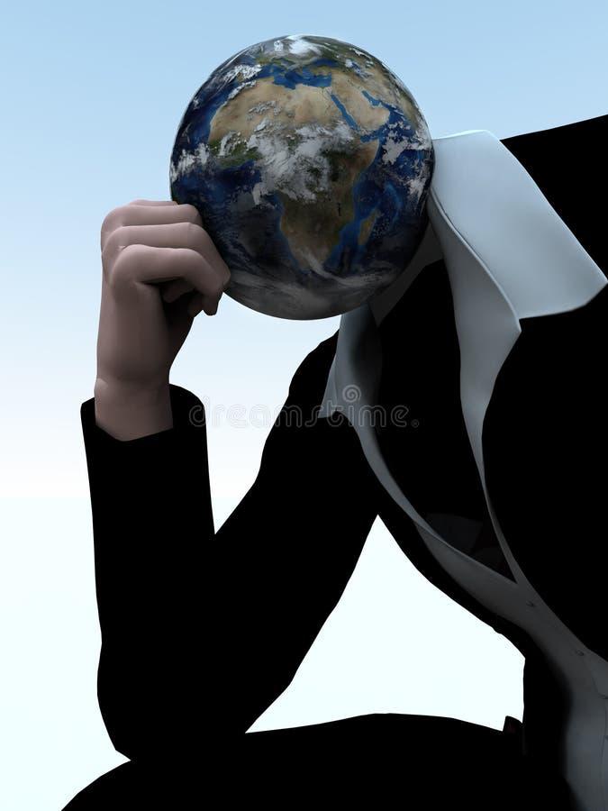 Earthman 23 royalty illustrazione gratis