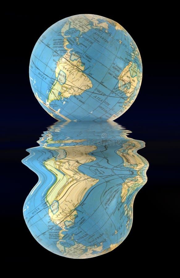 EarthMelt stock illustratie