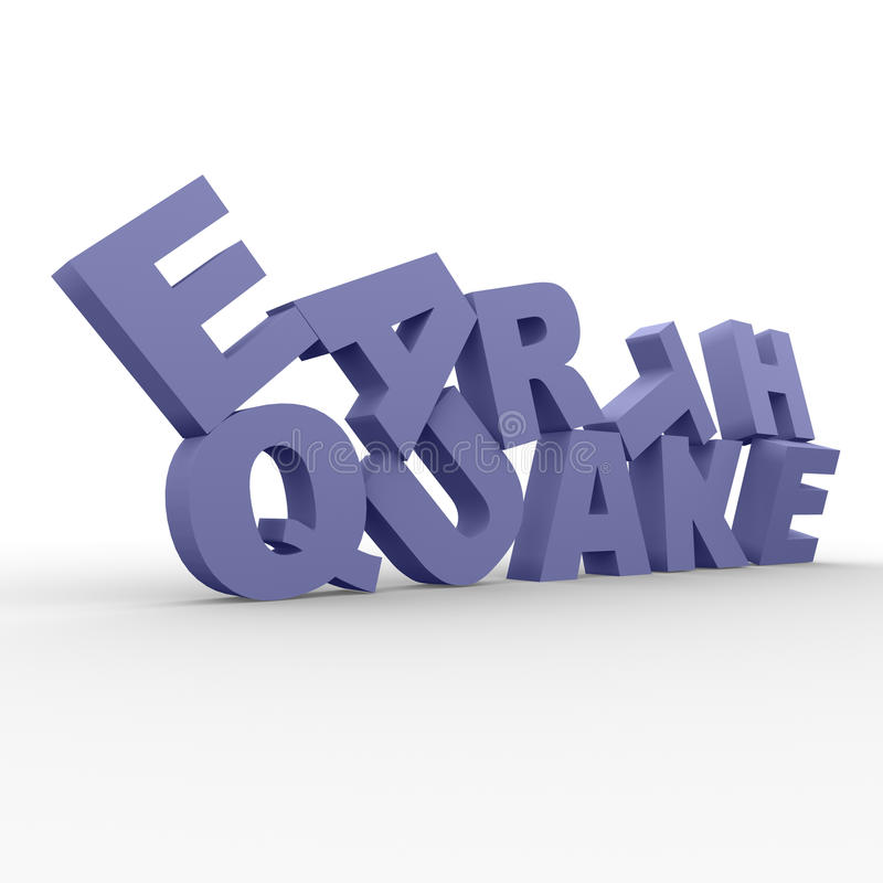 Earthquake Royalty Free Stock Images