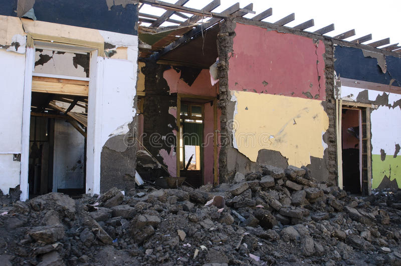 Earthquake royalty free stock photography