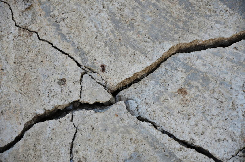 Earthquake building wall royalty free stock photos