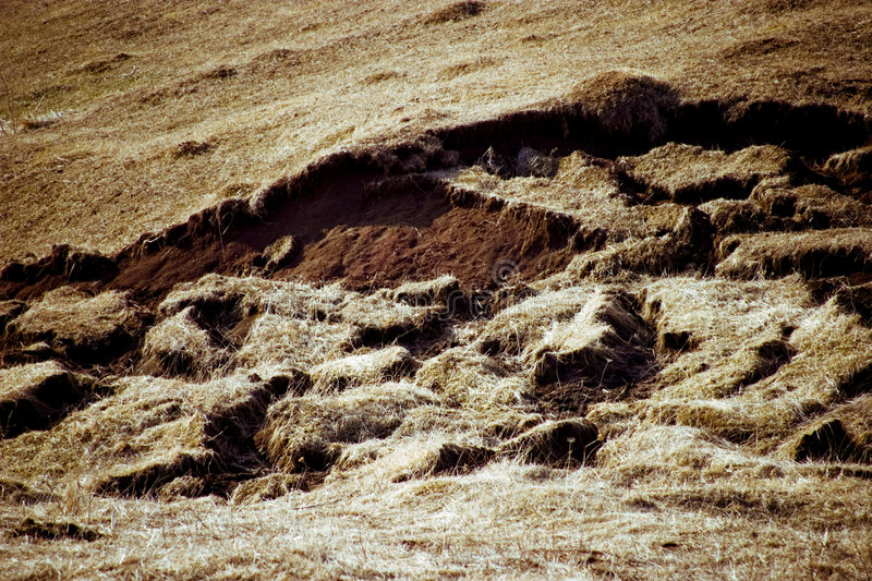 Download Earthquake Damage stock image. Image of grassy, grass - 1933333
