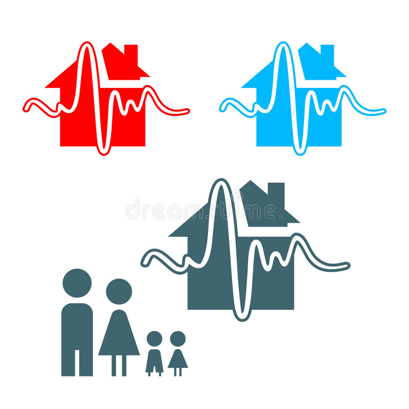 Download Earthquake icon stock vector. Illustration of insurance - 12994068