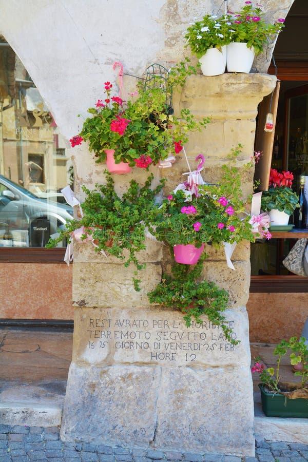 Earthquake sanctuary in Asolo, Italy royalty free stock photos