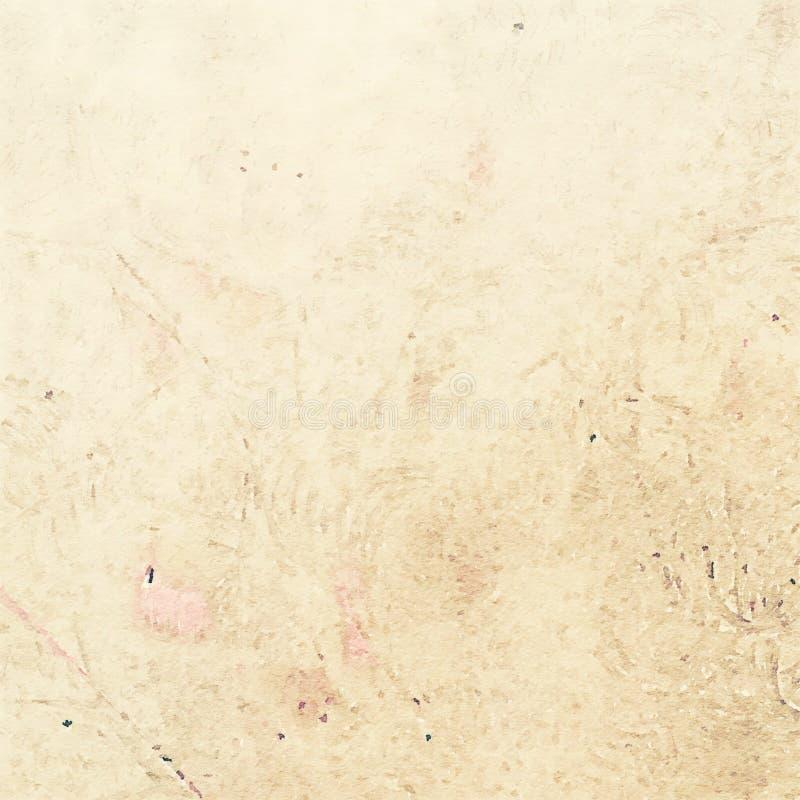 Earthy Grungy podławy modny akwareli tekstury tło ilustracja wektor
