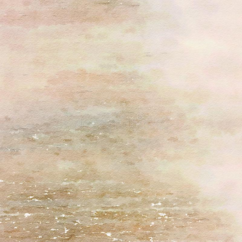 Free Earthy Grungy Shabby Chic Watercolor Texture Background Stock Photo - 57720360
