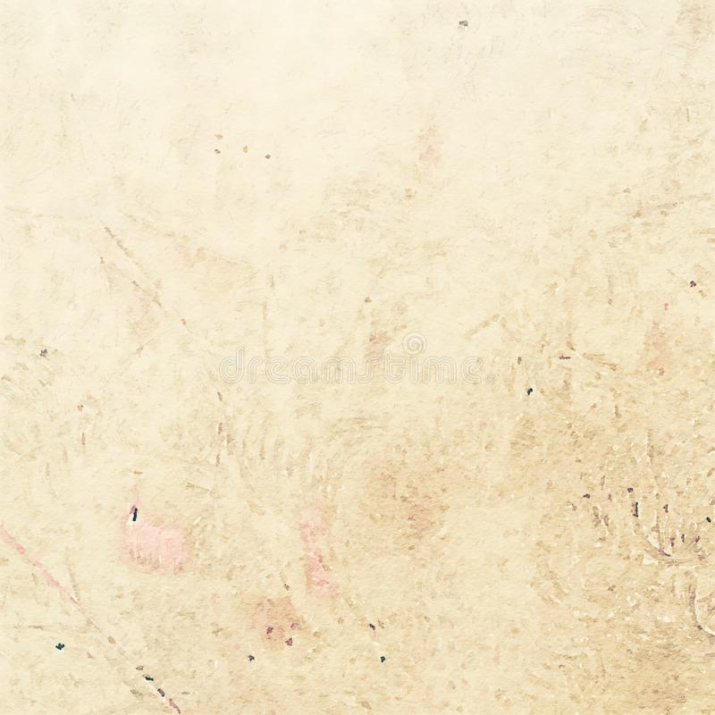 Free Earthy Grungy Shabby Chic Watercolor Texture Background Stock Photo - 58735550