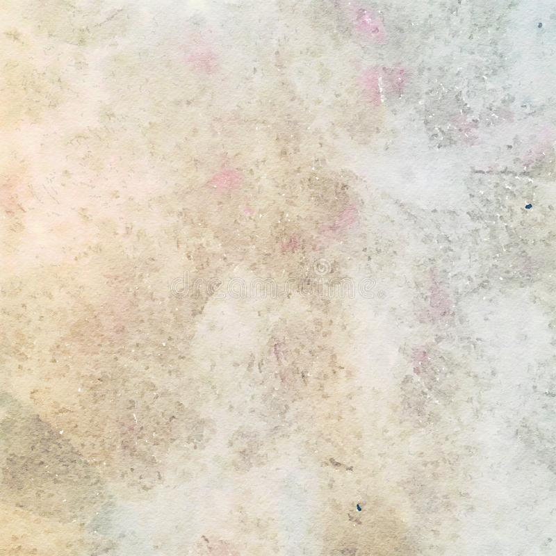 Free Earthy Grungy Shabby Chic Watercolor Texture Background Royalty Free Stock Photos - 58735558