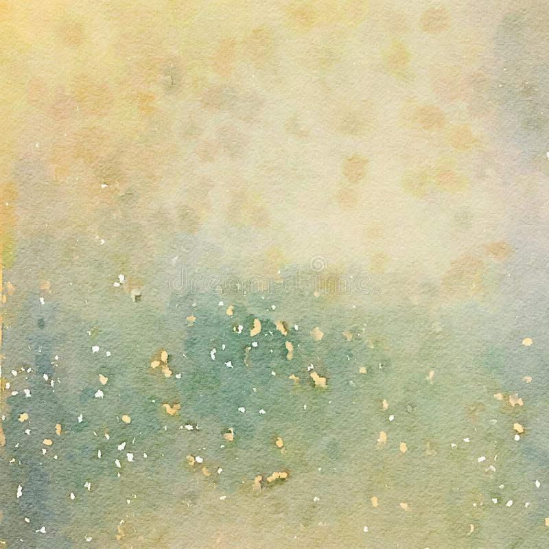 Earthy Grungy shabby chic watercolor texture background royalty free stock photography