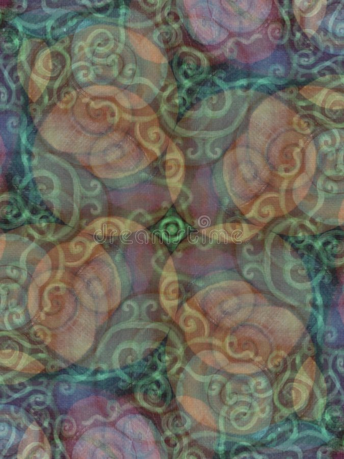 Earthy Rustic Textures Pattern. A light abstract texture pattern background with rich blue, brown and purple colors in a vine garden stock photos